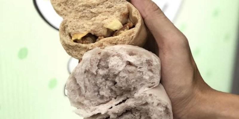 「台南東區」芋頭控不能錯過的紫芋見泥包「123饅頭店」