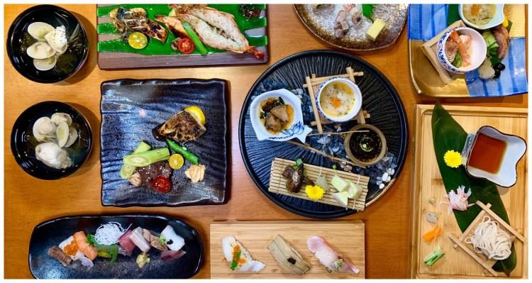 【台中美食】烏米うみ日式無菜單料理|只要580元就能享有精緻的無菜單料理,整間店充滿著濃厚的日式風情