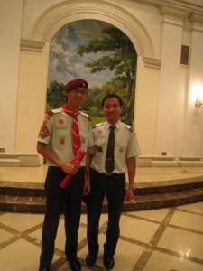 Choon Lian with HL