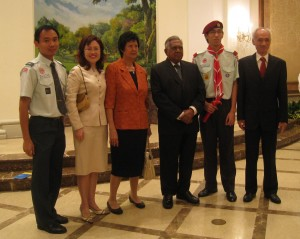 Choon Lian with His Excellency