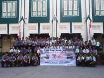 Exchange with Fort District scouts, Malacca