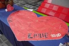 LOVE sign in board