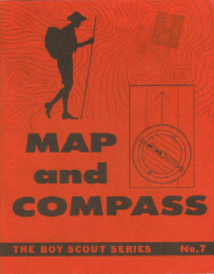 Map And Compass Cover