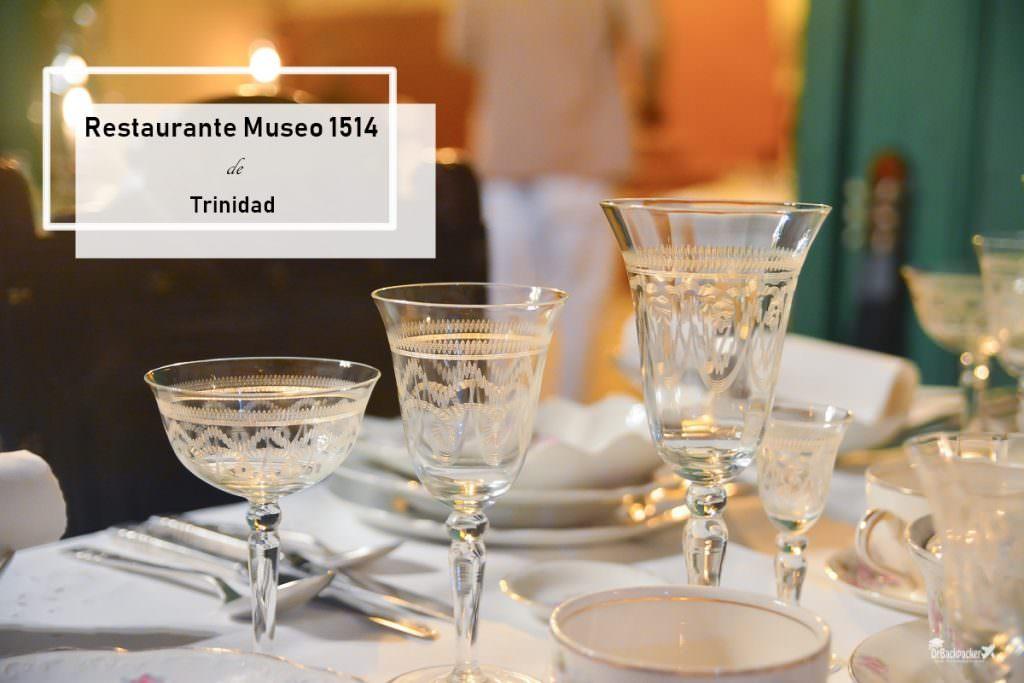 古巴千里達美食推薦   Restaurante Museo 1514 博物館中的貴族饗宴