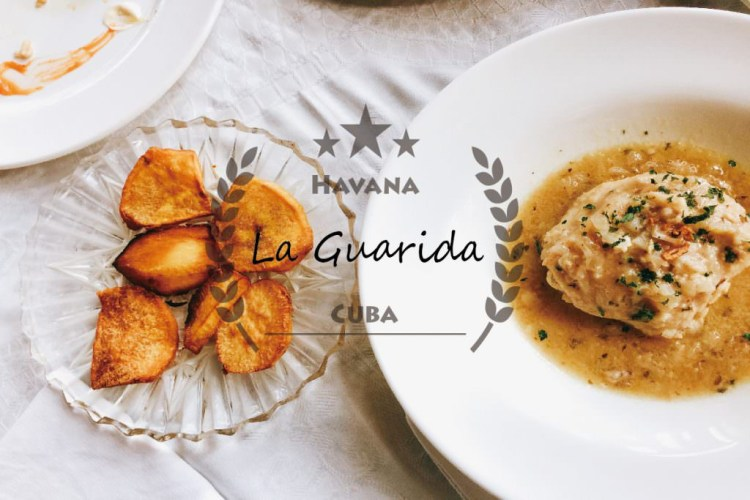 古巴哈瓦那美食推薦 | La Guarida 藏身隱密宮殿裡的古巴佳餚