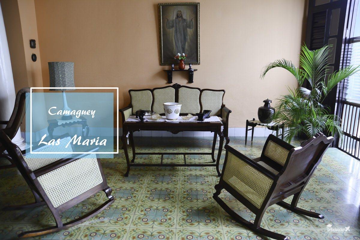 古巴卡馬圭住宿推薦|Las Maria 轉個彎就是行人徒步區