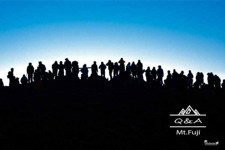 富士山攻略   Q&A懶人包 行程 交通 住宿 一篇解決第一次爬富士山的疑問