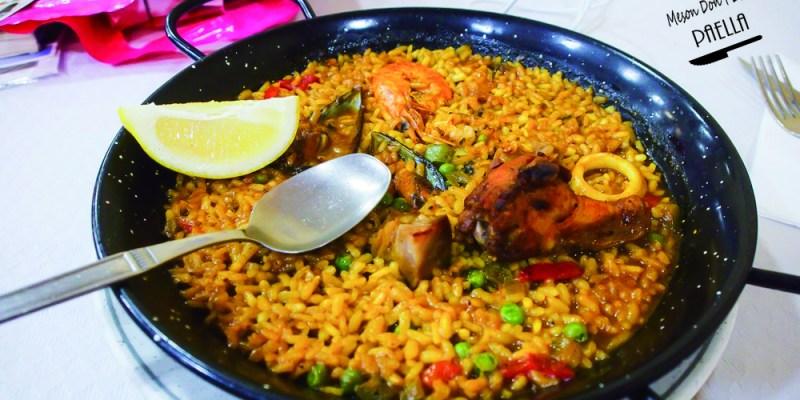 西班牙薩拉曼卡美食 | 當地人吃的平價海鮮燉飯 Meson Don Pepe