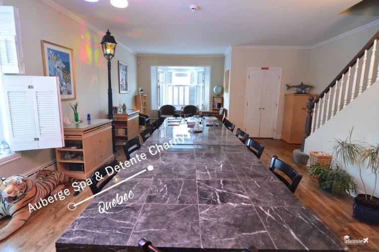 魁北克住宿推薦 |  主人熱情且早餐豐盛的 Auberge Spa & Détente Charny