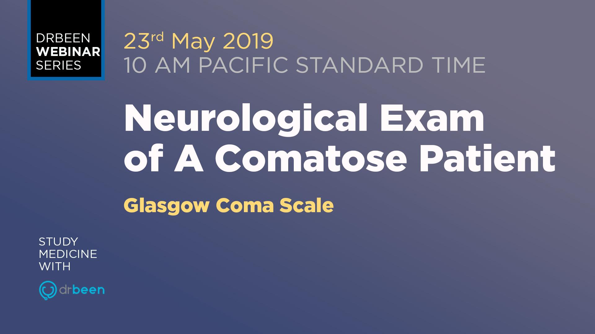 Neurological Exam Of A Comatose Patient Series