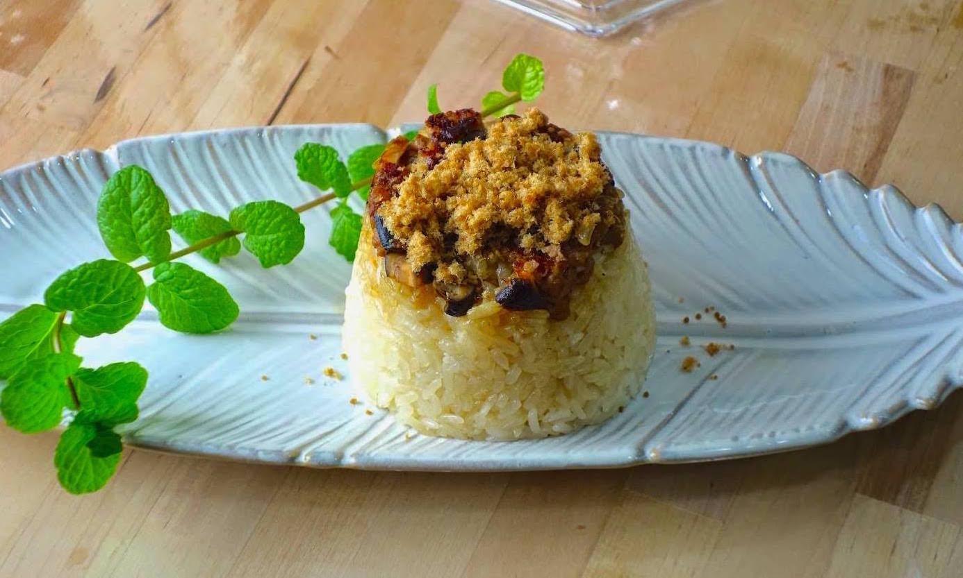 「筒仔米糕怎麼做才對味?」用電鍋做臺南經典小吃,簡單又好上手! - 夢幻廚房在我家