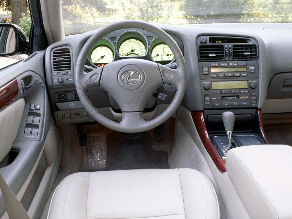 hight resolution of  lexus gs300 sedan 4 doors 1998 model interior
