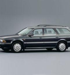 mitsubishi diamante wagon 5 doors 1992 model exterior  [ 1024 x 768 Pixel ]