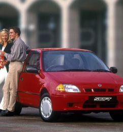 suzuki swift hatchback 3 doors 2001 model exterior  [ 1600 x 1200 Pixel ]