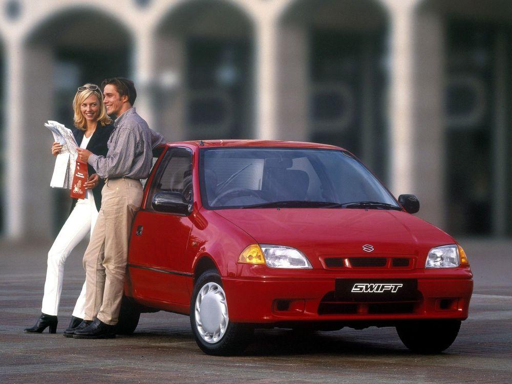 medium resolution of  suzuki swift hatchback 3 doors 2001 model exterior
