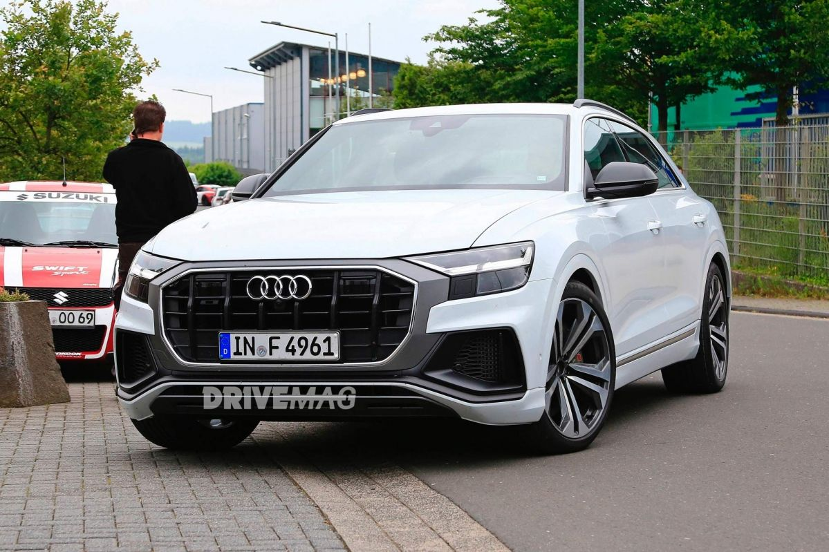 we spy the all new audi sq8 performance suv