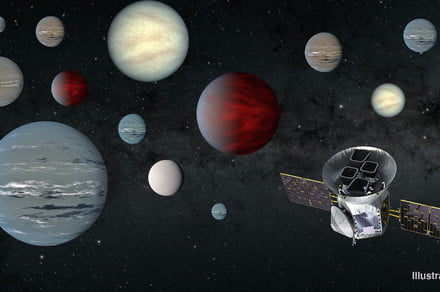 2,200 exoplanet candidates discovered in 2 years: TESS has been busy