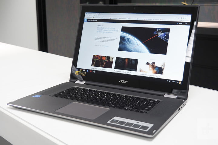 Acer Chromebook 15 Spin Review