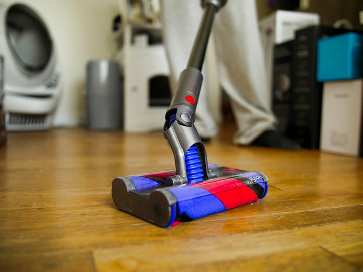 Dyson Omni-Glide Cordless Vacuum Review articulating brush