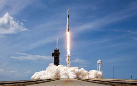 SpaceX uses rocket booster for record 9th time in Starlink launch