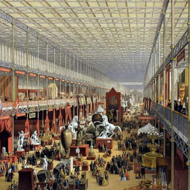 Grand International Exhibition of CrystalPalaceinterior