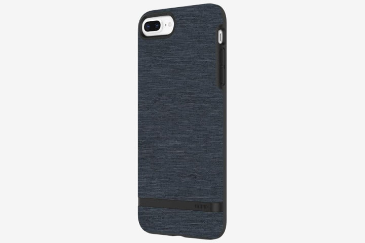 iPhone 8 in Incipio Carnaby case in blue