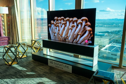 LG's awesome rollable TV goes on sale in U.S., but it ain't cheap