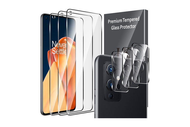 LK Tempered Glass Screen Protector for OnePlus 9