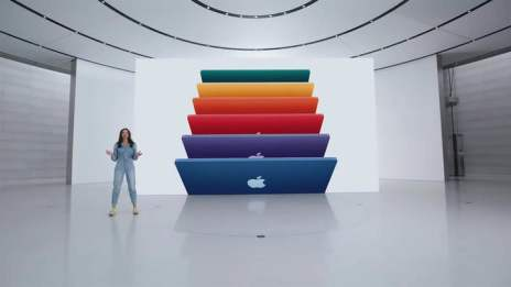 Apple reveals radical new design of 24-inch iMac at Spring Loaded event