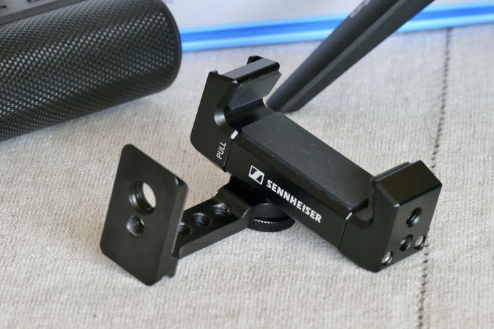 sennheiser mke 400 mobile kit review mke400 clamp