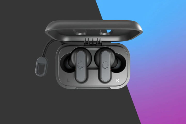 skullcandy dime wireless earbuds gray