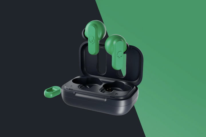 skullcandy dime wireless earbuds green 2