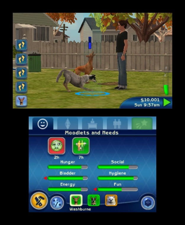 Sims 3 Ds : Review, Digital, Trends