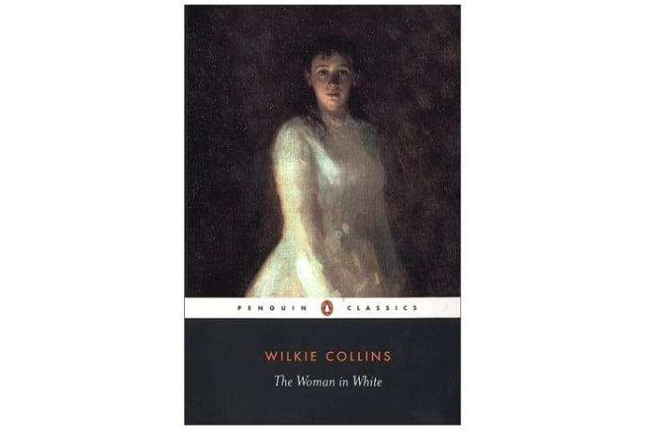 Picture shows the cover of the book with the title and author name at the bottom, above which it says 'Penguin Classics' and above that there is a painting of a young woman in a white dress