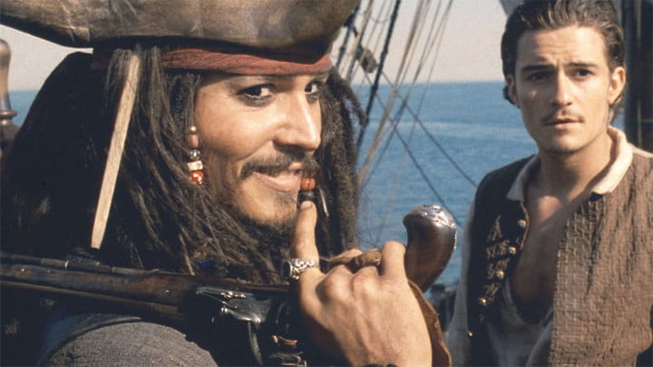 An image from Pirates of the Caribbean: The Curse of the Black Pearl