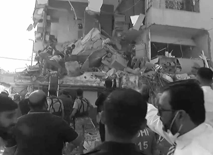 کراچی کے علاقے گلشن اقبال میں دھماکے سے 5 افراد جاں بحق، متعدد زخمی
