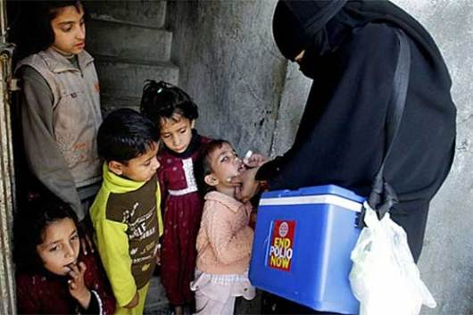 Image result for Special anti-polio campaign begins in nine districts of Balochistan