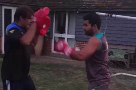Image result for umar akmal ka kick boxing