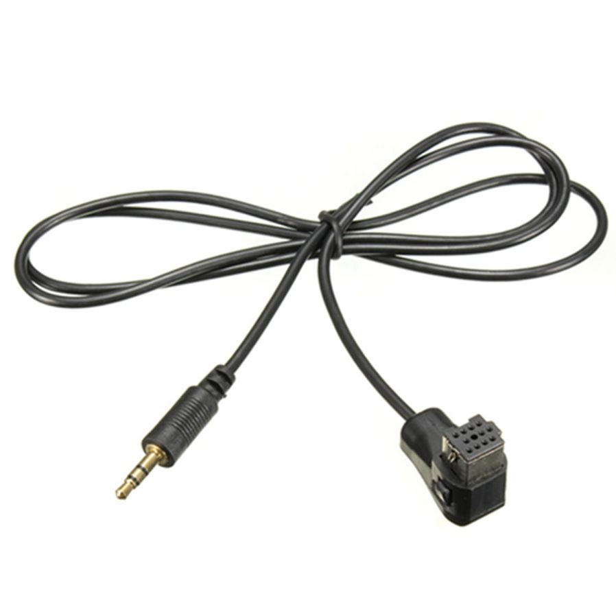Qook Car Audio Radio 3.5mm Aux to IP-BUS Connector Cable