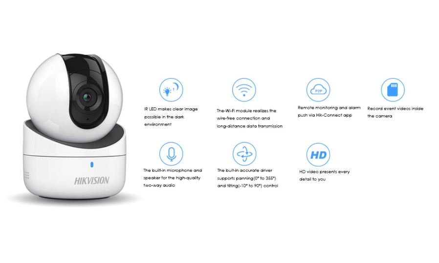 Hikvision Mini WiFi Camera 720P Wireless IP Camera DS