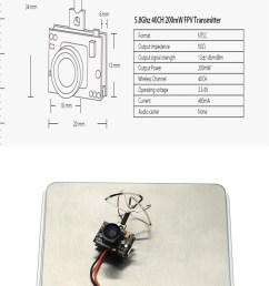 feature super mini size and light weight power failure memory remember the frequency channel after powering off nickel plated 4 leaf antenna [ 898 x 1812 Pixel ]