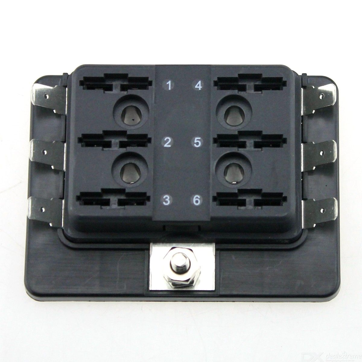 hight resolution of  f286 car rv 6 way fuse box without light automotive blade fuse box block holder
