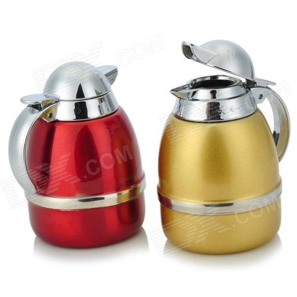 Stainless Steel Olive Oil Bottles Set with Holder (Pair