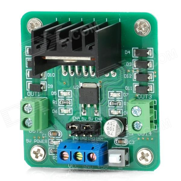 l298 h bridge circuit diagram ao smith 50 gallon electric water heater wiring l298n dual dc motor driver for robot smart car green free shipping dealextreme