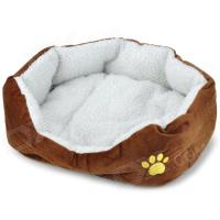 Soft Plush Pet Dog Cat Bed House - Coffee - Worldwide Free ...