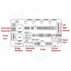 7 1 Home Theater Circuit Diagram 2003 Club Car Gas Golf Cart Wiring For Amplifier With Woofer |