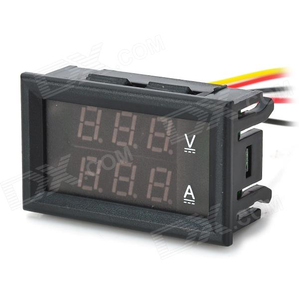 Speaker Wire Colors Together With Digital Voltmeter Circuit Diagram