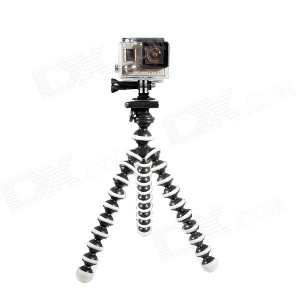 10-Inch Octopus Tripod for Gopro Hero 4 / 3+ / 3 / 2 / 1