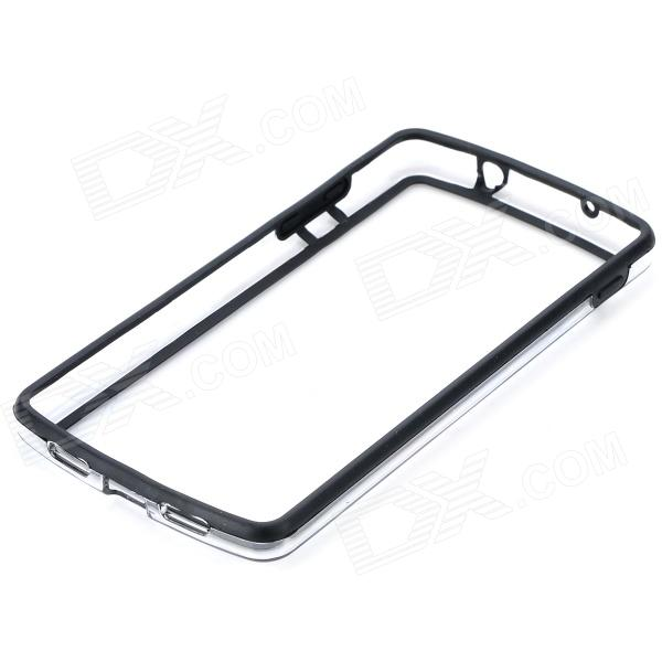 S-What Protective PC + TPU Bumper Frame Case for LG Nexus