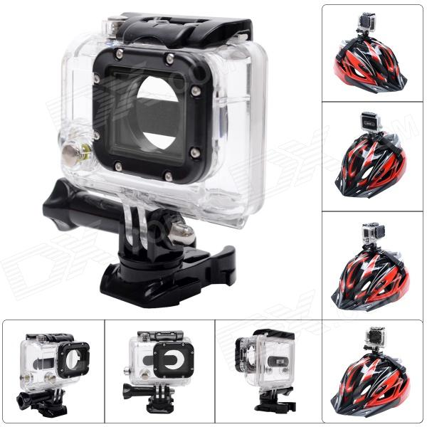 Fat Cat Advanced 360° Rotation 45M Waterproof Diving Housing Underwater Case for GoPro Hero3+ / 3 Waterproof Case for Gopro, Calas Replacement Waterproof Protective Dive Housing Case for GoPro Hero 4 3+ 3 Camera - Underwater 40 Meters Waterproof Case for Gopro, Calas Replacement Waterproof Protective Dive Housing Case for GoPro Hero 4 3+ 3 Camera – Underwater 40 Meters sku 298860 1